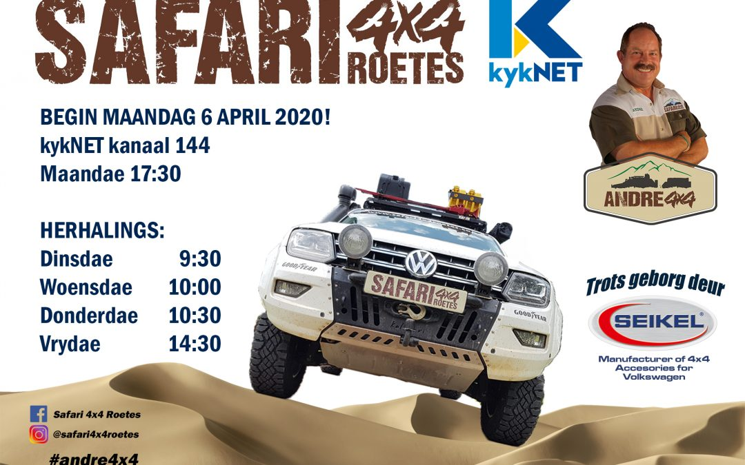 Safari 4×4 Roetes TV Programme 6 April 2020