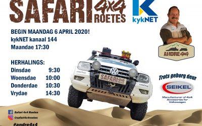 Safari 4×4 Roetes TV Programme 6 April 2020